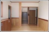 広い空間の和モダンの家