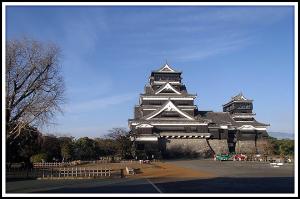 エコボロン熊本城施工の様子